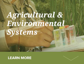 agriculturual and environment systems